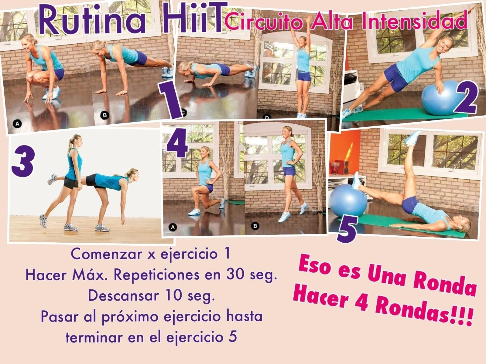 Circuito Hiit En Casa : Hoy en casa today at home buscadordeportivo